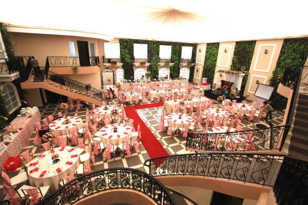 Lafayette Garden Venue with Set Up at Hanging Gardens Manila