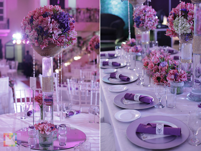 Hanging Gardens Debut : 18th birthday party table decoration ideas - www.pureclipart.com