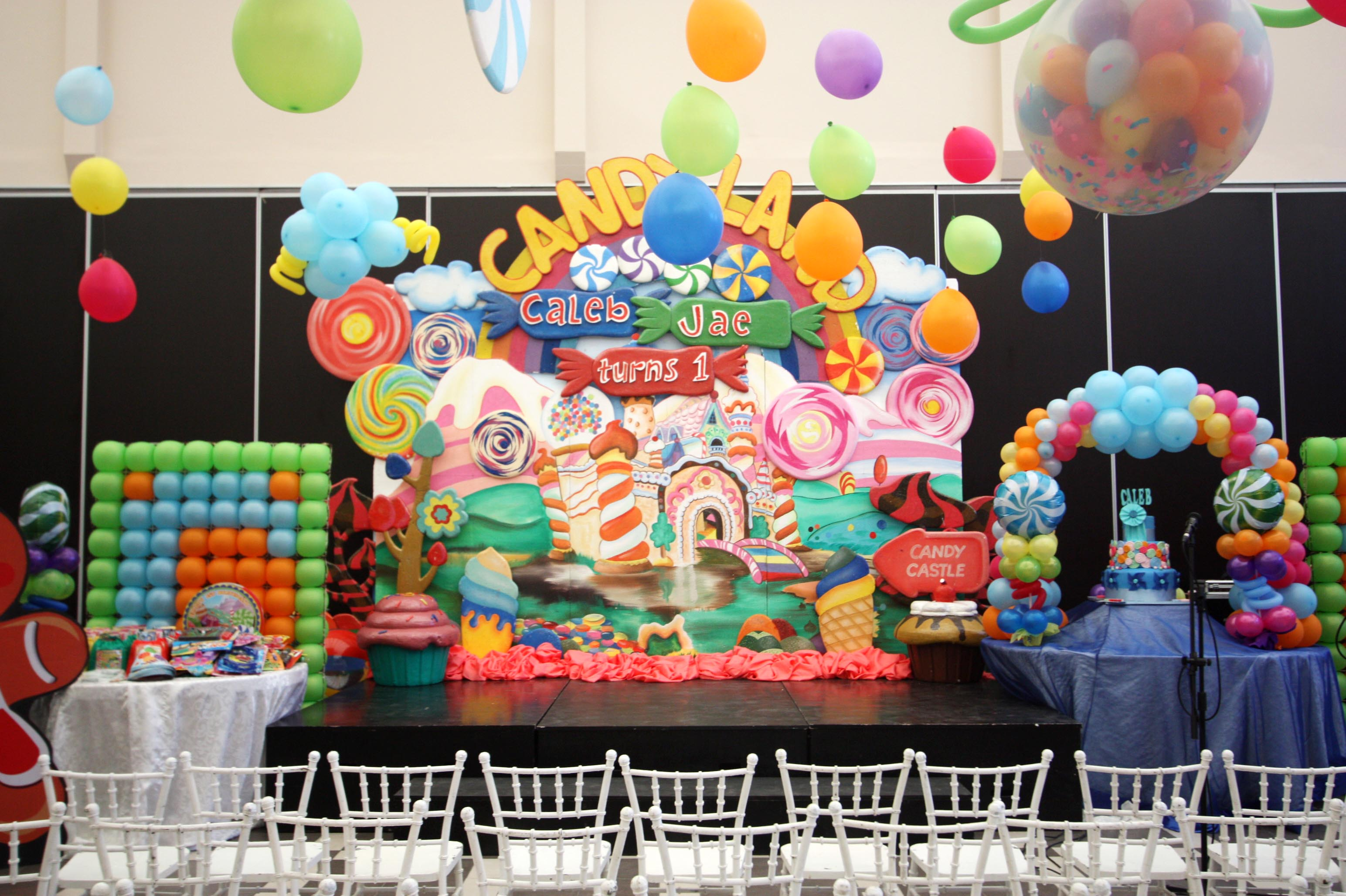 Caleb S Candyland Birthday Hanging Gardens Events Venue