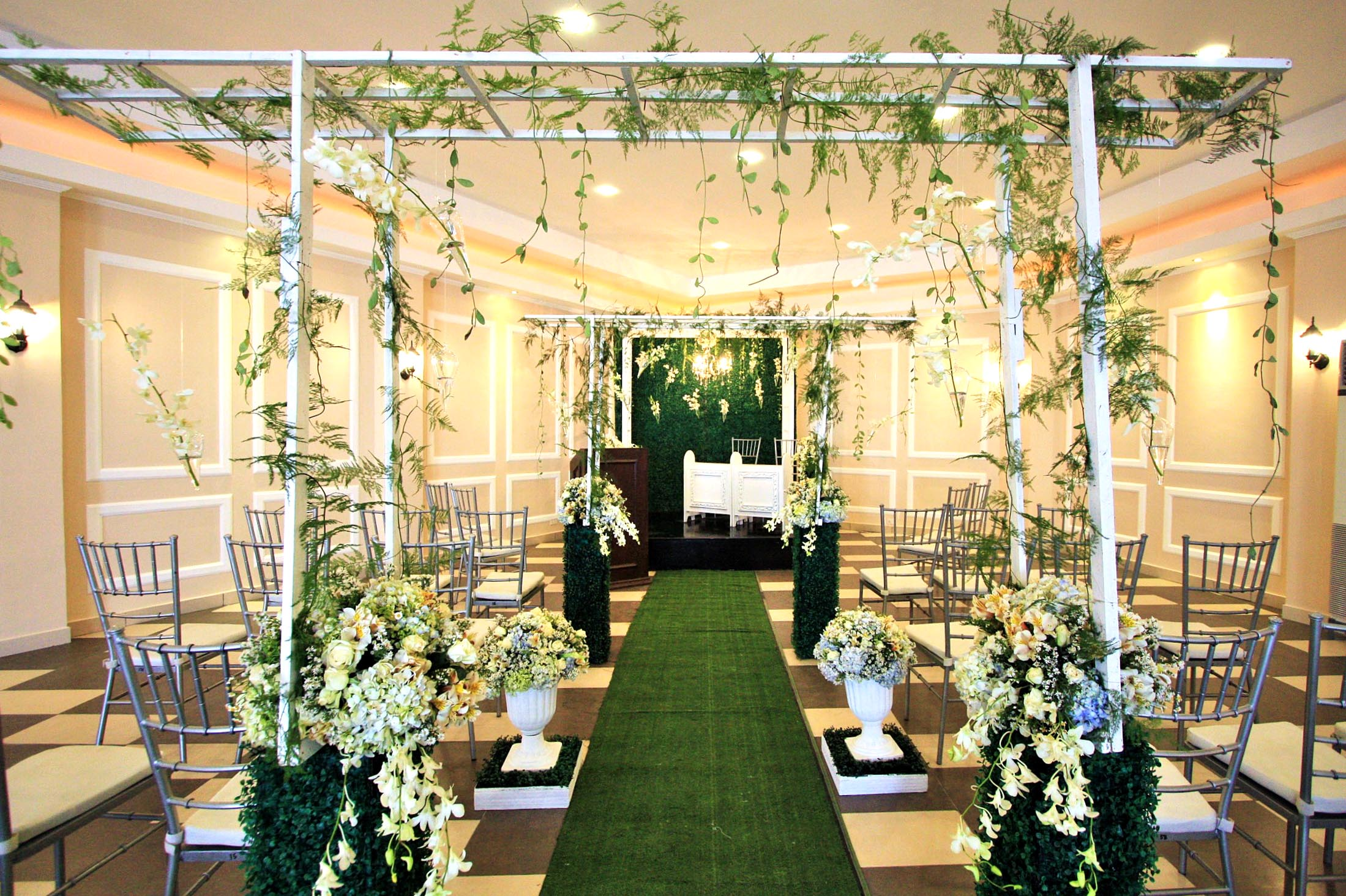 Wedding Ceremony Packages: Hanging Gardens Events Venue
