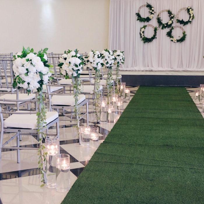 Garden Wedding Ceremony: Hanging Gardens Events Venue