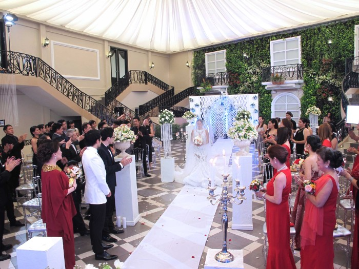 ABS-CBN Nathaniel Martha and Paul Wedding Ceremony