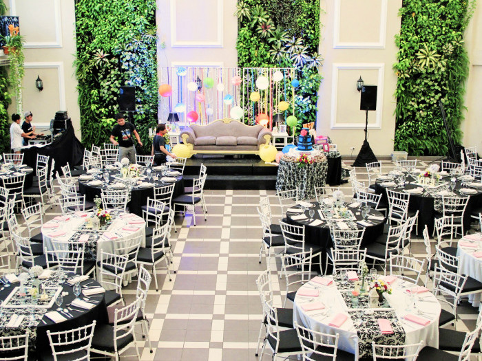 Hanging Gardens Events Venue Debut