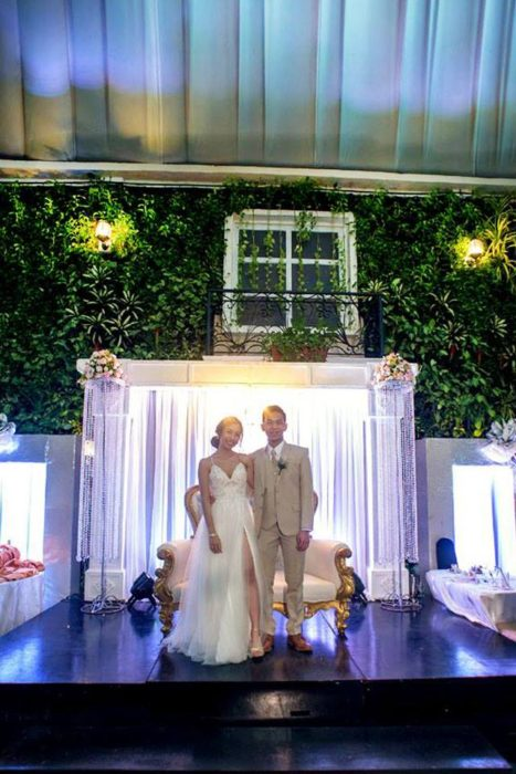 Hanging Gardens Wedding Reception