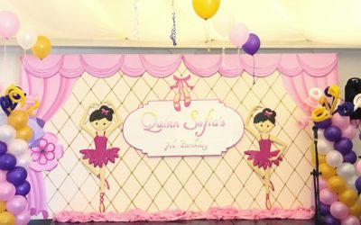 Adorable Ballerina 7th Birthday Party