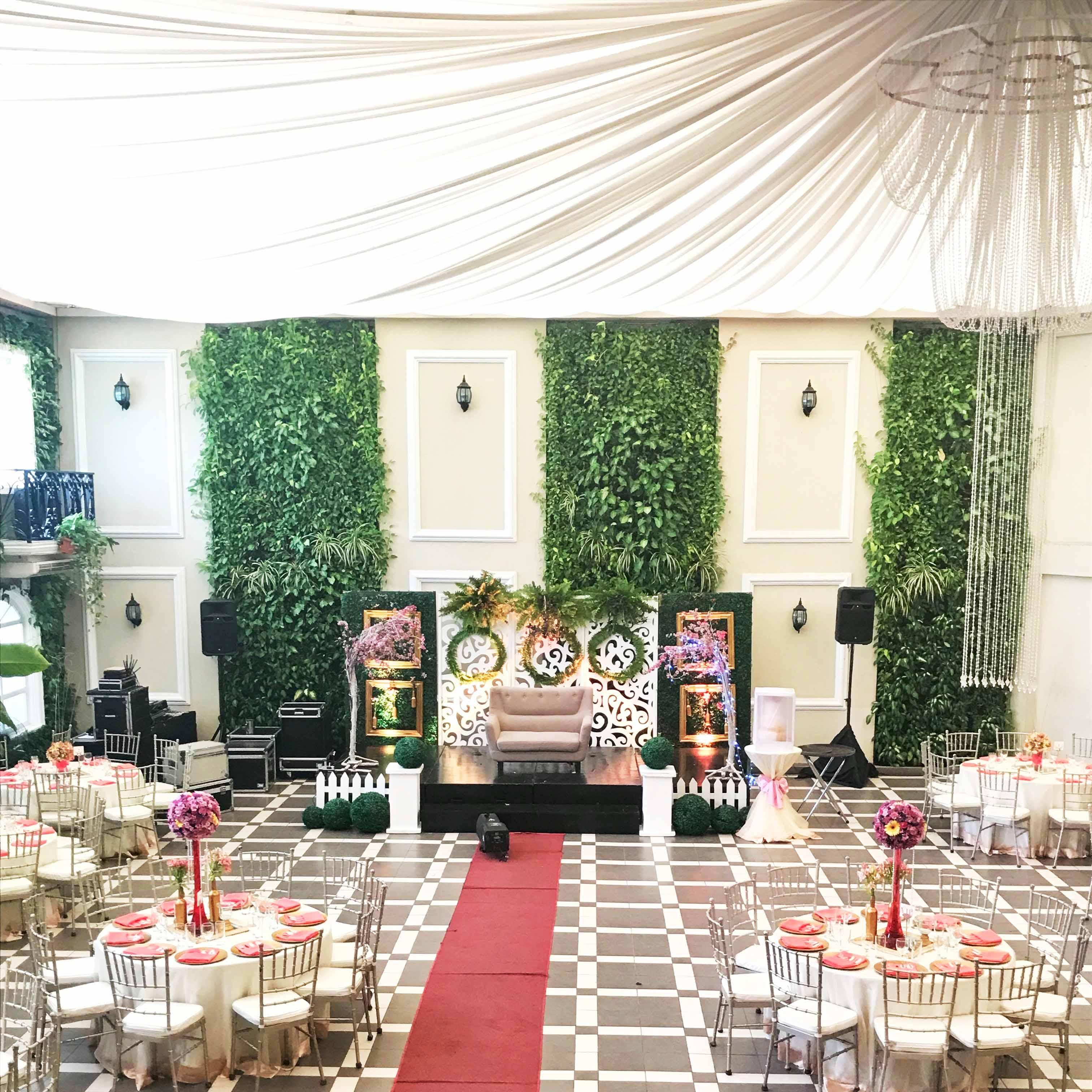 Wedding Venue In Quezon City: Hanging Gardens Events Venue